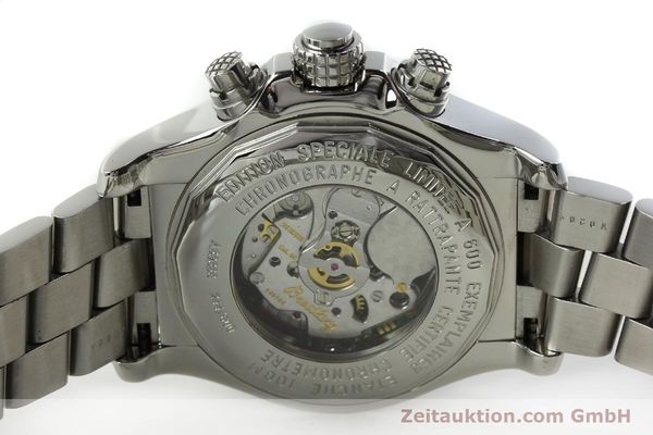 gebrauchte Luxusuhr Breitling Avenger Chronograph Stahl Quarz Kal. B69 Ref. A69360 LIMITED EDITION | 150658 08
