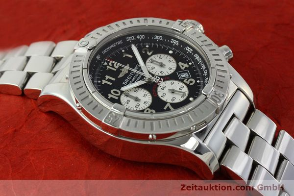 gebrauchte Luxusuhr Breitling Avenger Chronograph Stahl Quarz Kal. B69 Ref. A69360 LIMITED EDITION | 150658 16