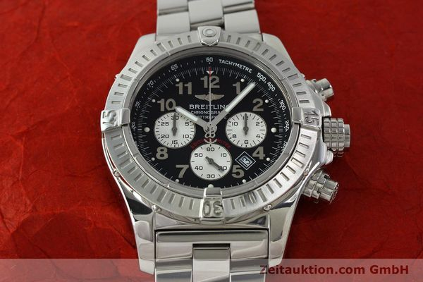 gebrauchte Luxusuhr Breitling Avenger Chronograph Stahl Quarz Kal. B69 Ref. A69360 LIMITED EDITION | 150658 17
