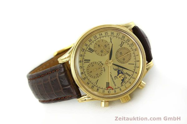 Used luxury watch Chronoswiss A. Rochat chronograph gold-plated automatic Kal. ETA 7750 Ref. 77990  | 150659 03
