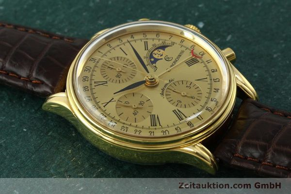 Used luxury watch Chronoswiss A. Rochat chronograph gold-plated automatic Kal. ETA 7750 Ref. 77990  | 150659 13