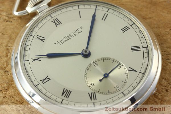 Used luxury watch A. Lange & Söhne * silver manual winding  | 150662 02