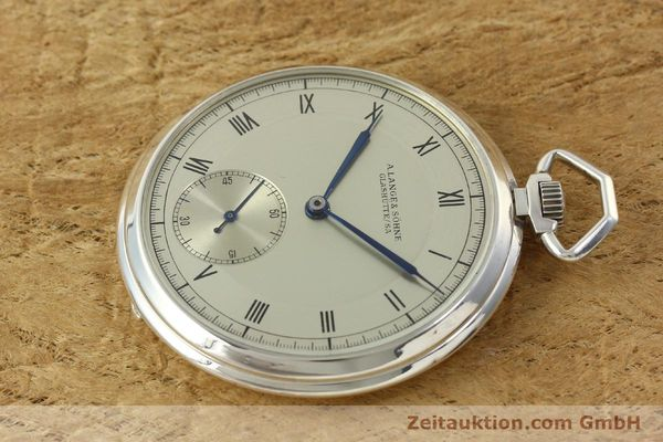 Used luxury watch A. Lange & Söhne * silver manual winding  | 150662 03