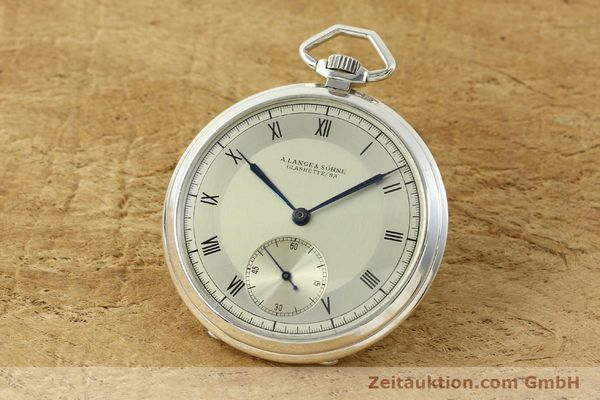 Used luxury watch A. Lange & Söhne * silver manual winding  | 150662 04