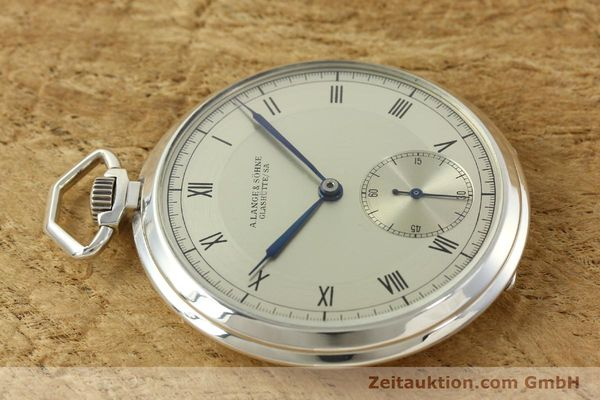 Used luxury watch A. Lange & Söhne * silver manual winding  | 150662 05