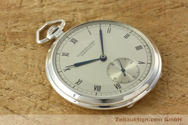 Used luxury watch A. Lange & Söhne * silver manual winding  | 150662 13