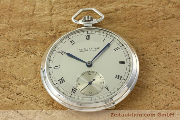 Used luxury watch A. Lange & Söhne * silver manual winding  | 150662 14