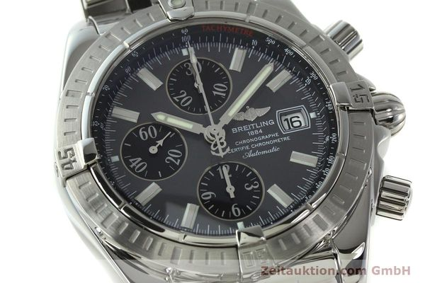 Used luxury watch Breitling Evolution chronograph steel automatic Kal. B13 ETA 7750 Ref. A13356  | 150663 02