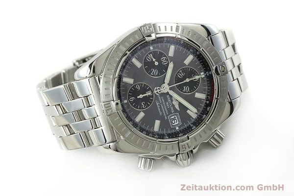Used luxury watch Breitling Evolution chronograph steel automatic Kal. B13 ETA 7750 Ref. A13356  | 150663 03