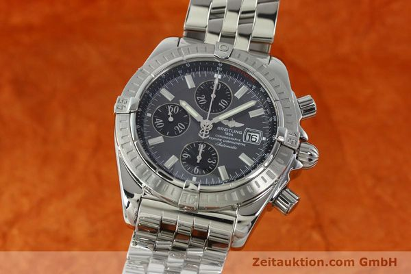 Used luxury watch Breitling Evolution chronograph steel automatic Kal. B13 ETA 7750 Ref. A13356  | 150663 04