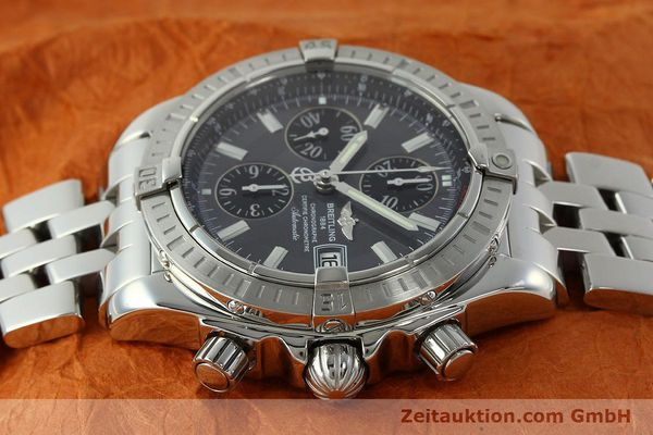 Used luxury watch Breitling Evolution chronograph steel automatic Kal. B13 ETA 7750 Ref. A13356  | 150663 05