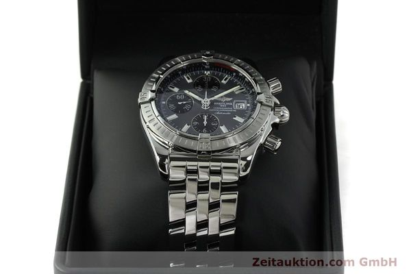 Used luxury watch Breitling Evolution chronograph steel automatic Kal. B13 ETA 7750 Ref. A13356  | 150663 07