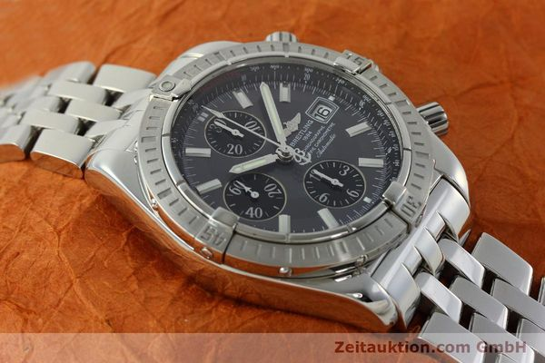 Used luxury watch Breitling Evolution chronograph steel automatic Kal. B13 ETA 7750 Ref. A13356  | 150663 14