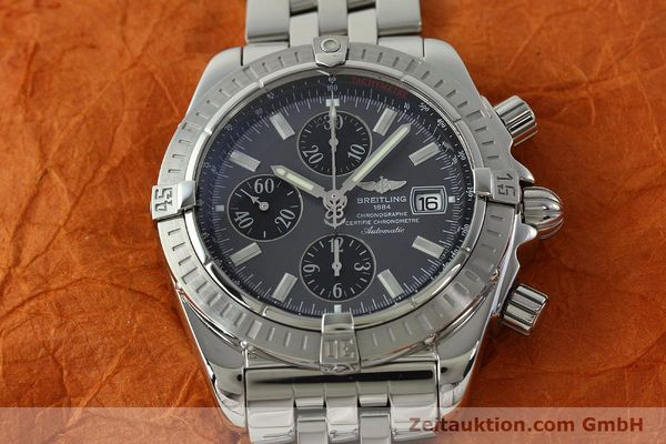 Used luxury watch Breitling Evolution chronograph steel automatic Kal. B13 ETA 7750 Ref. A13356  | 150663 15