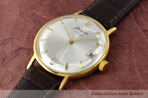 Used luxury watch Glashütte * gold-plated manual winding Kal. 69.1  | 150666 01