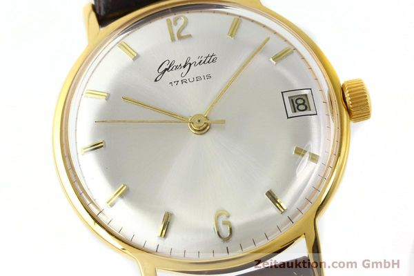 Used luxury watch Glashütte * gold-plated manual winding Kal. 69.1  | 150666 02
