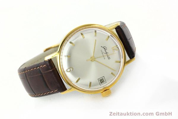 Used luxury watch Glashütte * gold-plated manual winding Kal. 69.1  | 150666 03