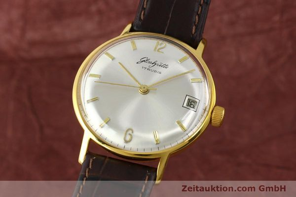 Used luxury watch Glashütte * gold-plated manual winding Kal. 69.1  | 150666 04