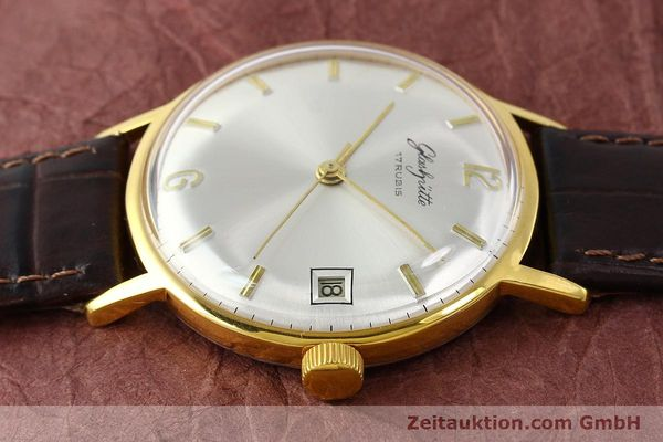 Used luxury watch Glashütte * gold-plated manual winding Kal. 69.1  | 150666 05