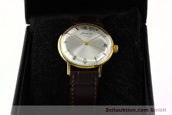 Used luxury watch Glashütte * gold-plated manual winding Kal. 69.1  | 150666 07