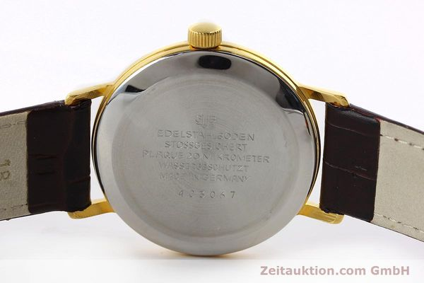 Used luxury watch Glashütte * gold-plated manual winding Kal. 69.1  | 150666 09