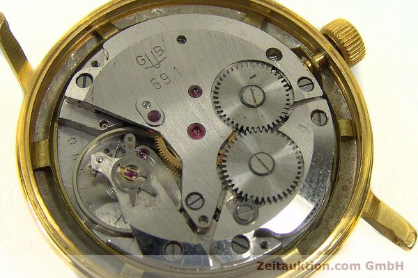 Used luxury watch Glashütte * gold-plated manual winding Kal. 69.1  | 150666 10