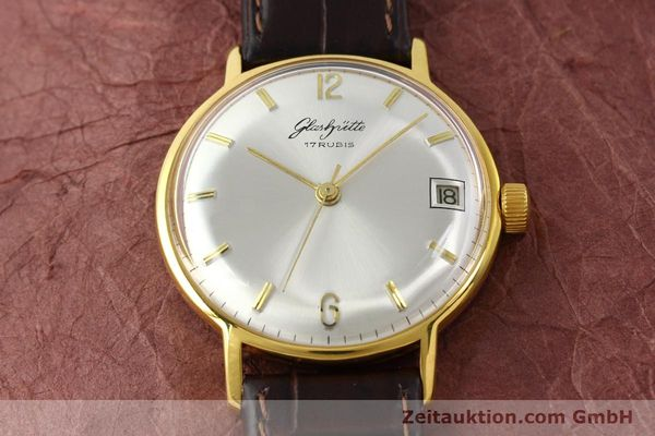 Used luxury watch Glashütte * gold-plated manual winding Kal. 69.1  | 150666 13