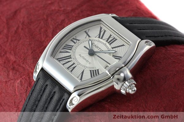 Used luxury watch Cartier Roadster steel automatic Kal. 3110 ETA 2892A2  | 150674 01