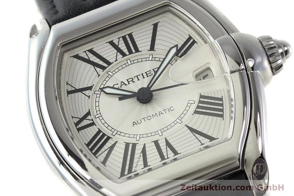 Used luxury watch Cartier Roadster steel automatic Kal. 3110 ETA 2892A2  | 150674 02