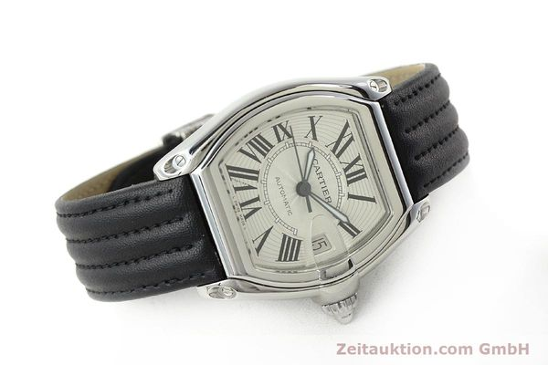 Used luxury watch Cartier Roadster steel automatic Kal. 3110 ETA 2892A2  | 150674 03