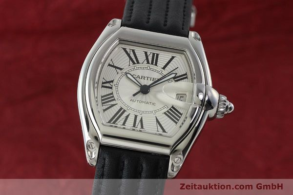 Used luxury watch Cartier Roadster steel automatic Kal. 3110 ETA 2892A2  | 150674 04