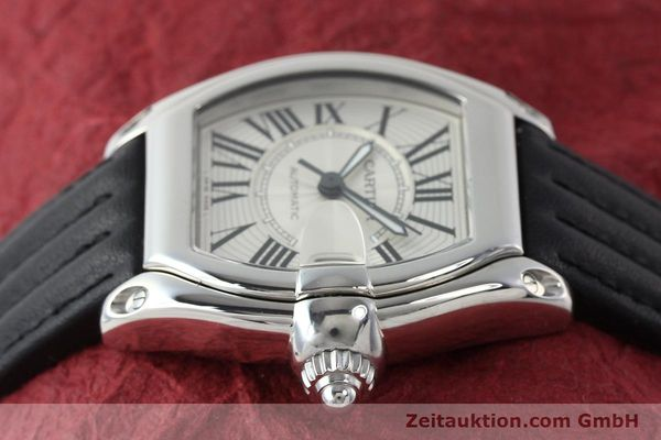 Used luxury watch Cartier Roadster steel automatic Kal. 3110 ETA 2892A2  | 150674 05