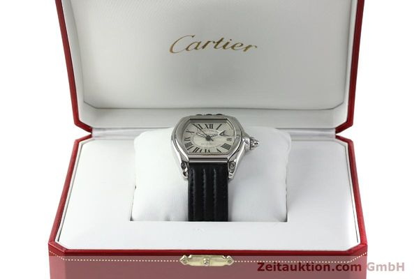 Used luxury watch Cartier Roadster steel automatic Kal. 3110 ETA 2892A2  | 150674 07