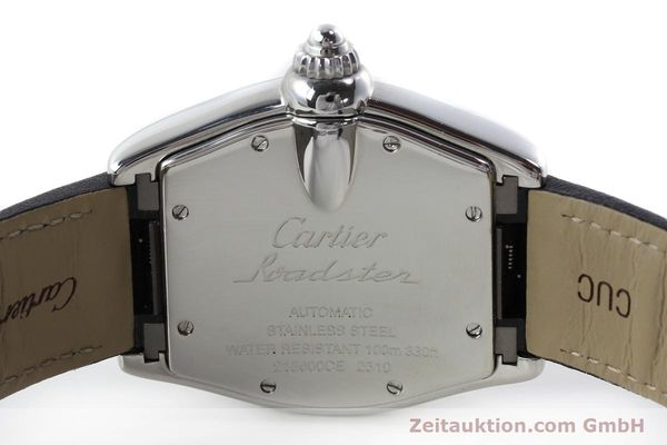 Used luxury watch Cartier Roadster steel automatic Kal. 3110 ETA 2892A2  | 150674 09