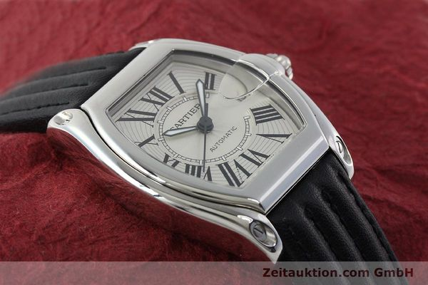 Used luxury watch Cartier Roadster steel automatic Kal. 3110 ETA 2892A2  | 150674 15
