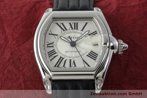Used luxury watch Cartier Roadster steel automatic Kal. 3110 ETA 2892A2  | 150674 16