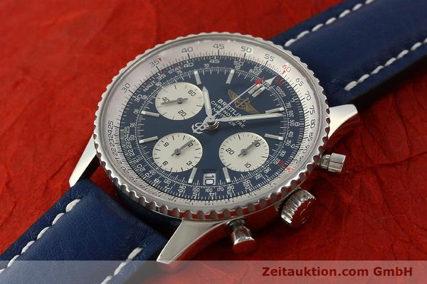 Used luxury watch Breitling Navitimer chronograph steel automatic Kal. B23 ETA 7753 Ref. A23322  | 150675 01