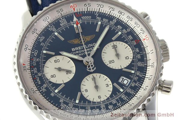 Used luxury watch Breitling Navitimer chronograph steel automatic Kal. B23 ETA 7753 Ref. A23322  | 150675 02