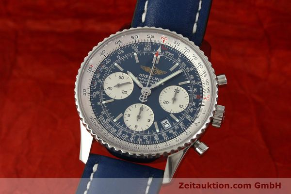 Used luxury watch Breitling Navitimer chronograph steel automatic Kal. B23 ETA 7753 Ref. A23322  | 150675 04