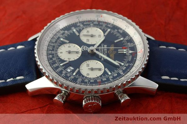 Used luxury watch Breitling Navitimer chronograph steel automatic Kal. B23 ETA 7753 Ref. A23322  | 150675 05