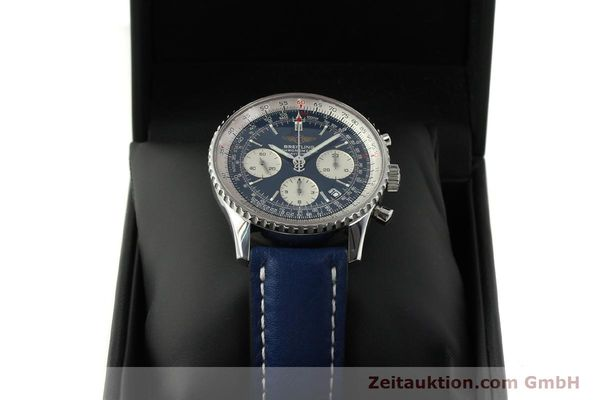 Used luxury watch Breitling Navitimer chronograph steel automatic Kal. B23 ETA 7753 Ref. A23322  | 150675 07