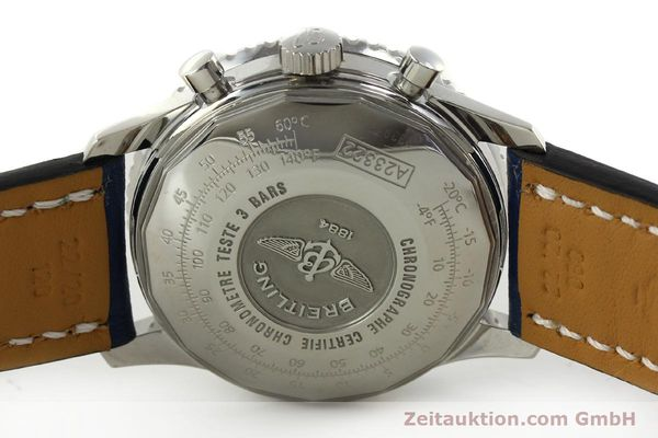 Used luxury watch Breitling Navitimer chronograph steel automatic Kal. B23 ETA 7753 Ref. A23322  | 150675 09