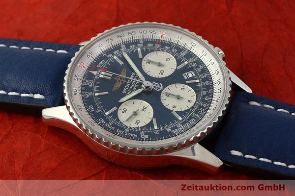 Used luxury watch Breitling Navitimer chronograph steel automatic Kal. B23 ETA 7753 Ref. A23322  | 150675 12