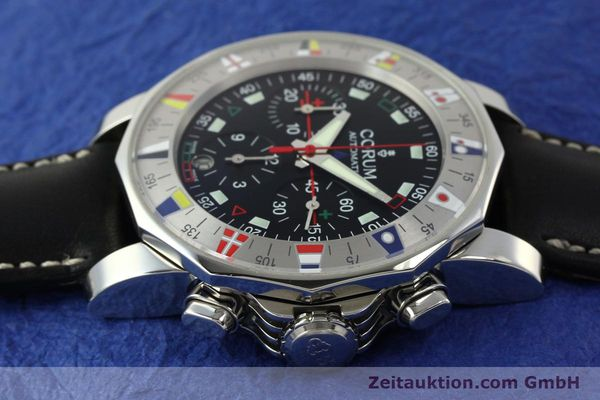 Used luxury watch Corum Admirals Cup chronograph steel automatic Kal. ETA 2892A2 Ref. 285.630.20  | 150676 05