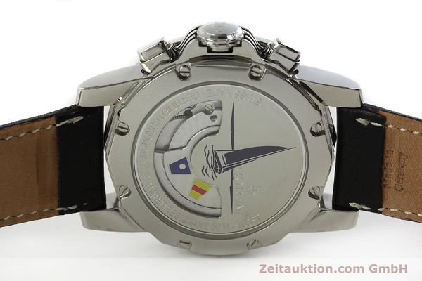 Used luxury watch Corum Admirals Cup chronograph steel automatic Kal. ETA 2892A2 Ref. 285.630.20  | 150676 09