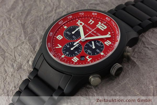 Used luxury watch Porsche Design Dashbord chronograph aluminium automatic Kal. ETA 2894-2 Ref. 6612.17/2  | 150685 01