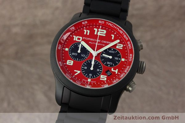 Used luxury watch Porsche Design Dashbord chronograph aluminium automatic Kal. ETA 2894-2 Ref. 6612.17/2  | 150685 04