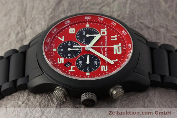 Used luxury watch Porsche Design Dashbord chronograph aluminium automatic Kal. ETA 2894-2 Ref. 6612.17/2  | 150685 05