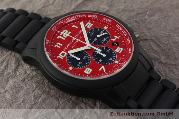 Used luxury watch Porsche Design Dashbord chronograph aluminium automatic Kal. ETA 2894-2 Ref. 6612.17/2  | 150685 14