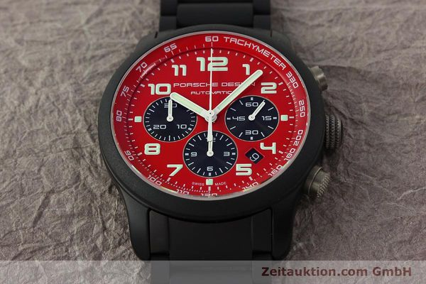 Used luxury watch Porsche Design Dashbord chronograph aluminium automatic Kal. ETA 2894-2 Ref. 6612.17/2  | 150685 15
